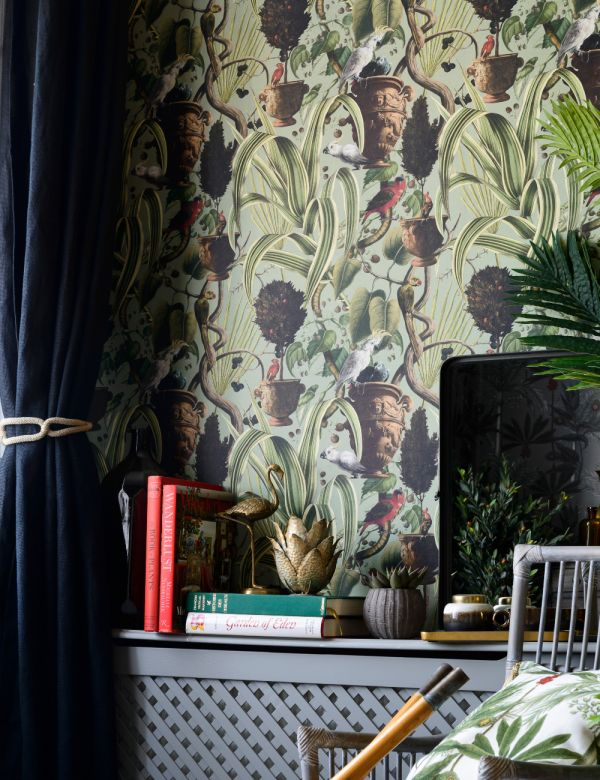 Mind The Gap Wallpaper Collection - Exotic Menagerie Light