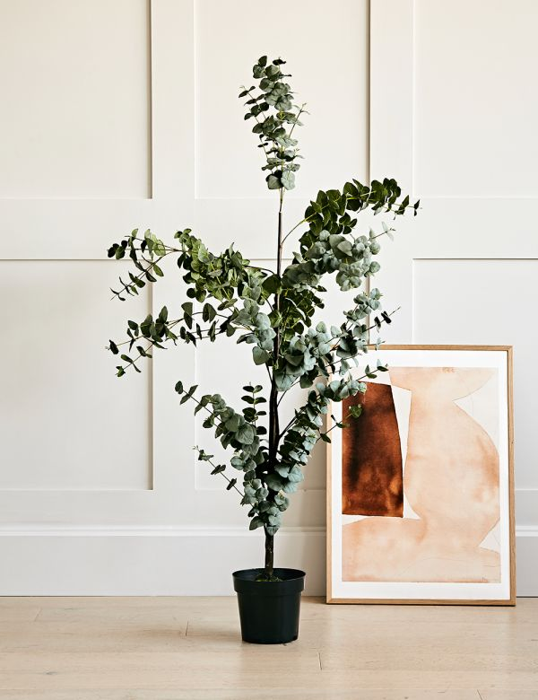 Faux Eucalyptus Tree