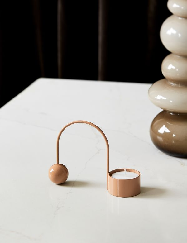 Ferm Living Balance Tealight Holder -Beige