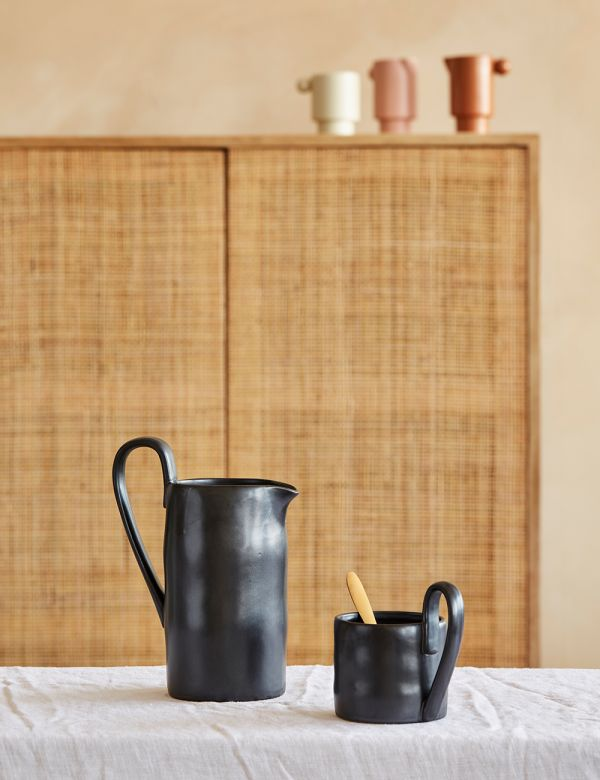Ferm Living Black Flow Mug