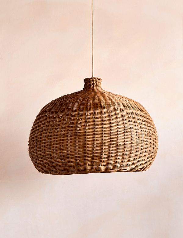Ferm Living Braided Rattan Lampshade - Belly