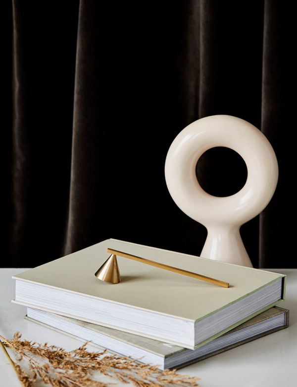 Ferm Living Brass Candle Snuffer