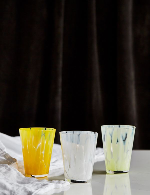 Ferm Living Casca Drinking Glass - Three Colours Available