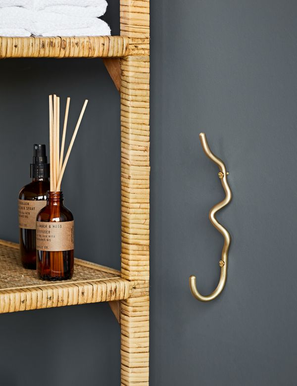 Ferm Living Curvature Brass Hook