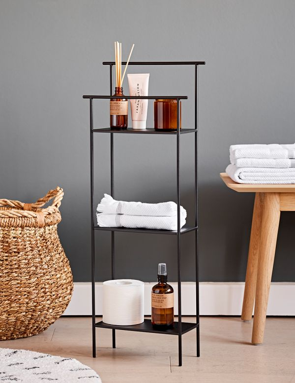 Ferm Living Dora Shelving Unit - Black