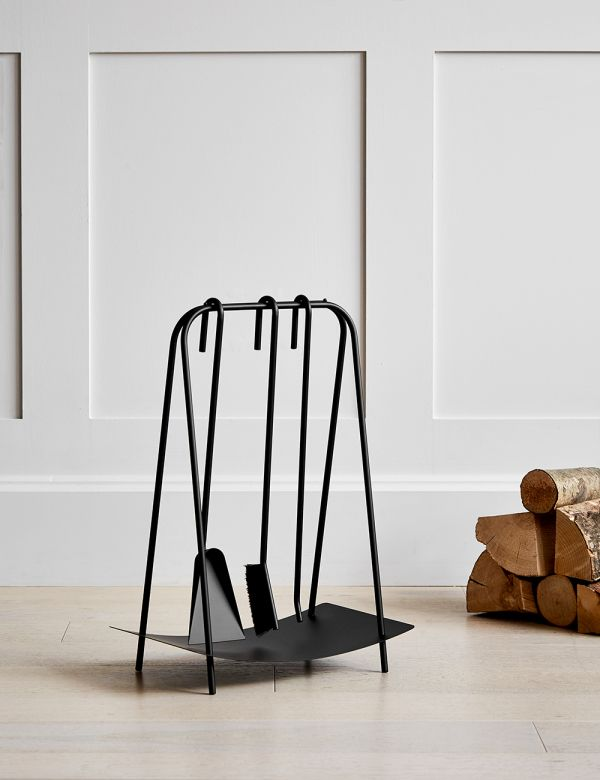Ferm Living Fireplace Tools - Black