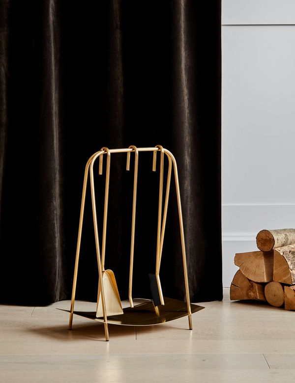 Ferm Living Fireplace Tools - Brass