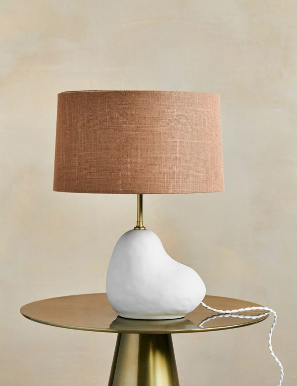 Ferm Living Hebe Lamp Base - Small Off White