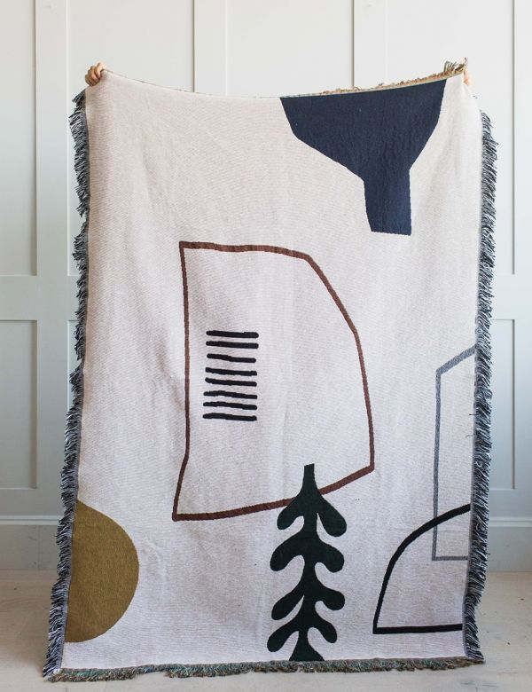 Ferm Living Mirage Reversible Blanket