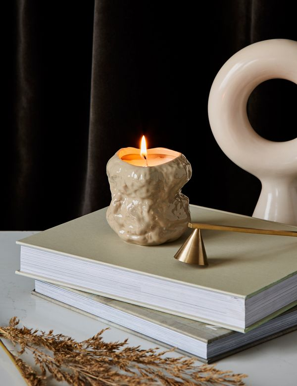 Ferm Living Tusk Camomile Scented Candle - Cashmere