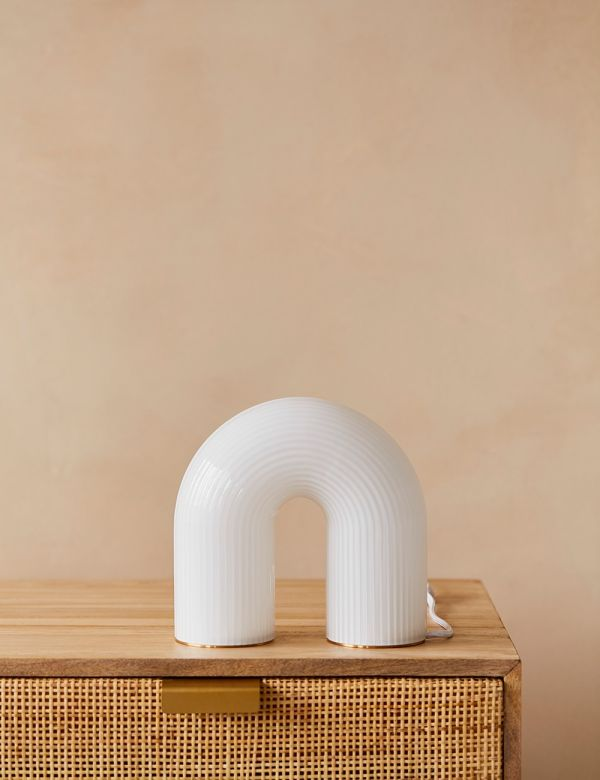 Ferm Living White Vuelta Arch Lamp