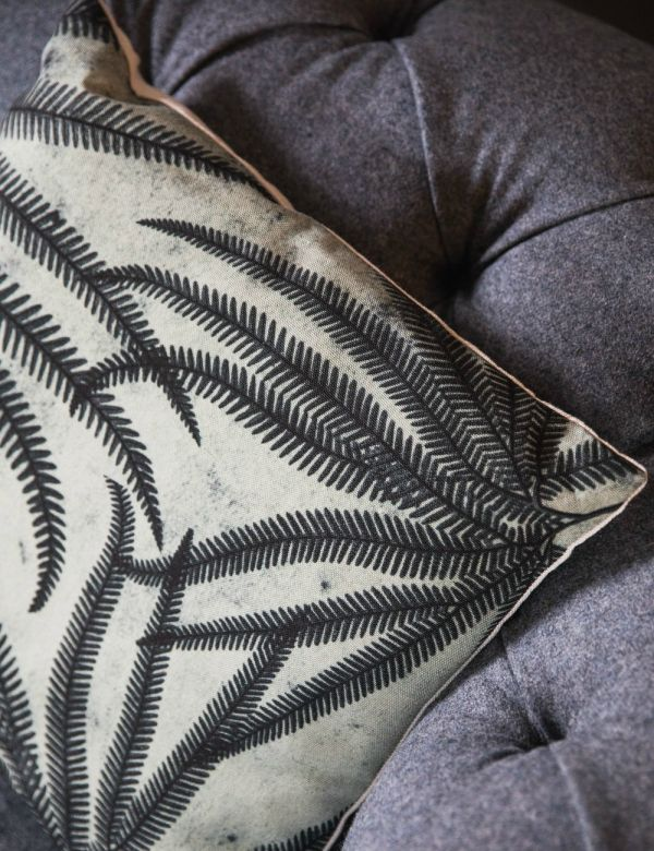 Fern Print Cushion