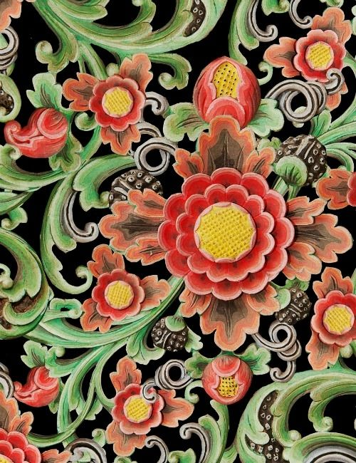 Mind The Gap Wallpaper Collection - Floral Painting
