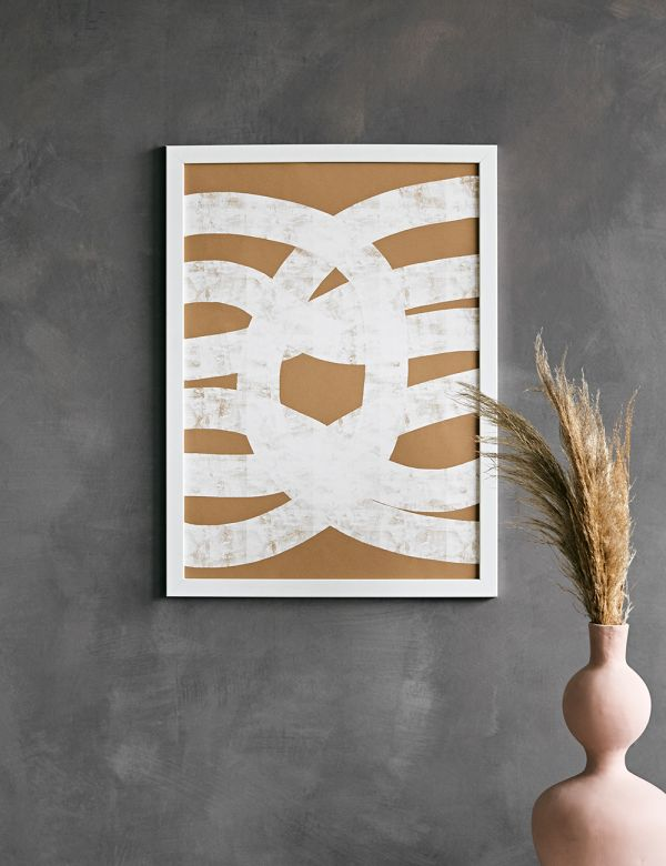 Forn Studio Print - Abstract Composition on Beige 50 x 70cm