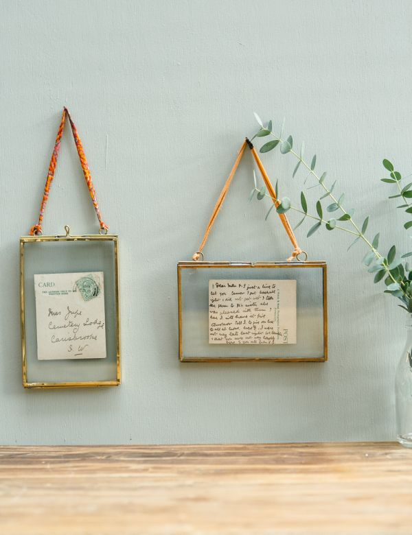Small Brass Frames - Landscape or Portrait