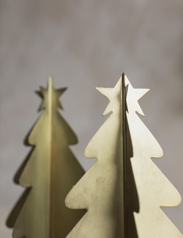 Gold Christmas Tree - Two Sizes Available