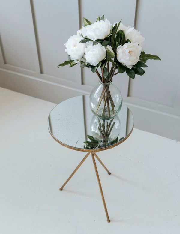 Rosalind Gold Tripod Occasional Table