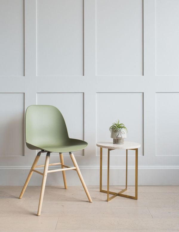 Green Albert Kuip Chair by Zuiver