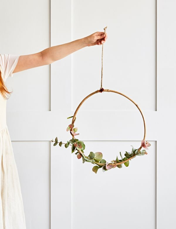 Hanging Bamboo Ring - Two Sizes Available