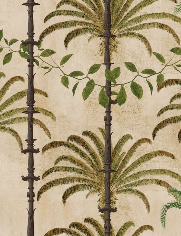 Mind The Gap Wallpaper Collection - Havana Taupe