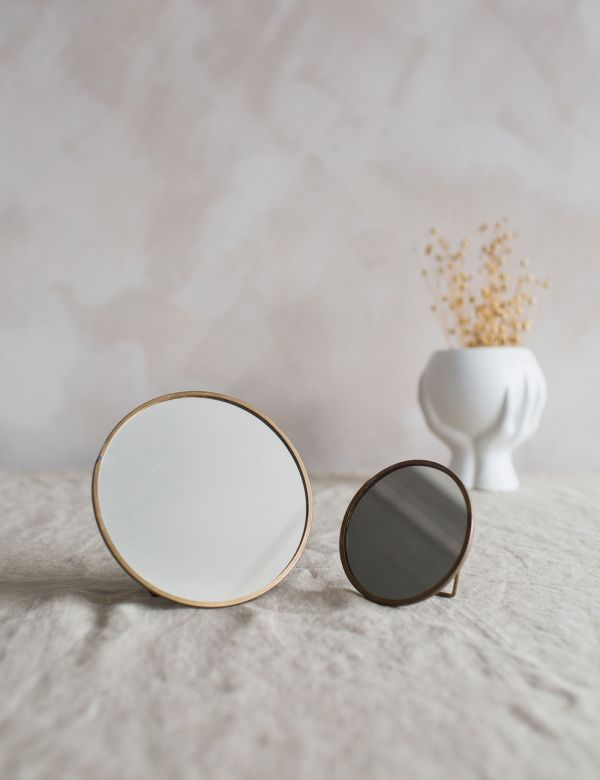 Kiko Round Standing Mirror - Two Sizes Available
