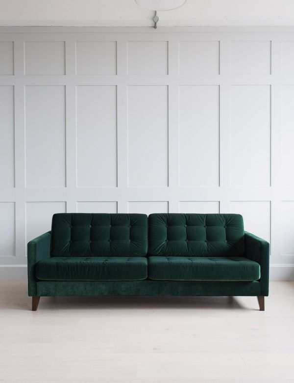 Kingston Button and Stud Sofa