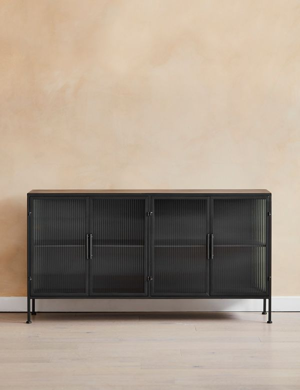 PREORDER Kyoto Glass & Metal Sideboard