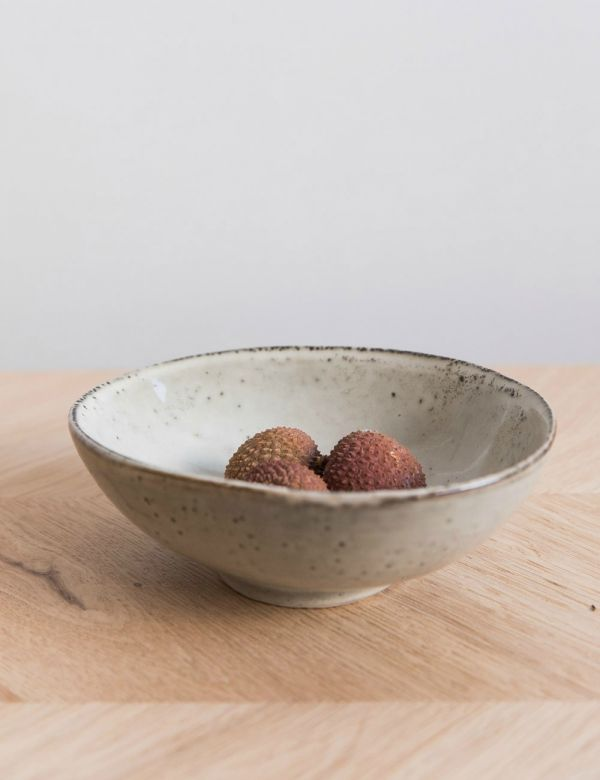 Lake Speckled Small Bowl