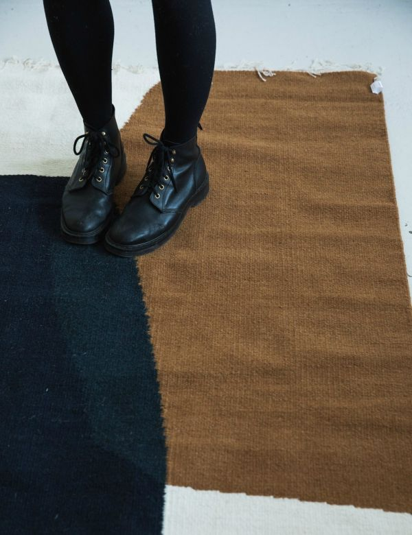 Ferm Living Large Kelim Rug - Merge