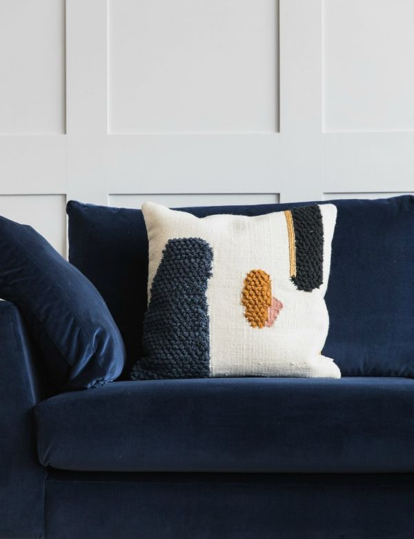 Textured Wool Loop Cushion