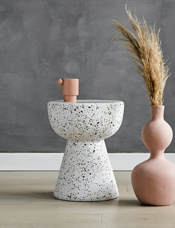 Lucy Terrazzo Side Table