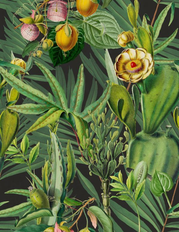 Mind The Gap Wallpaper Collection - Luscious Flora
