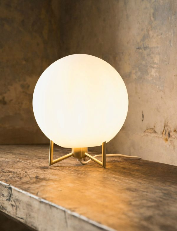 Milan Large Globe Table Lamp