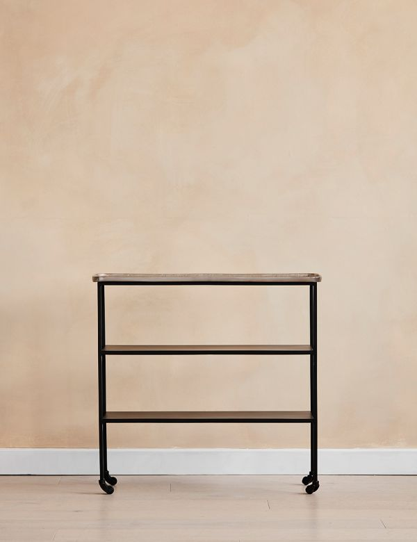 Minimal Metal Console Table