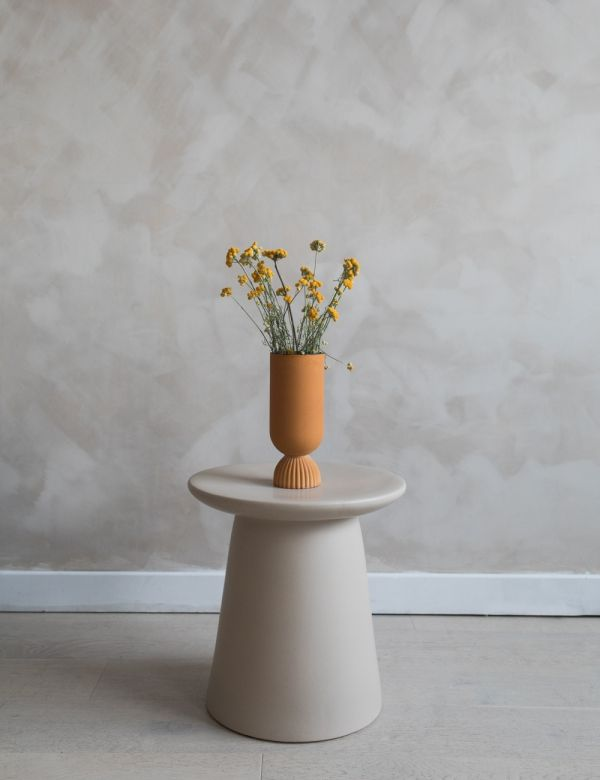Minimal Stone Side Table