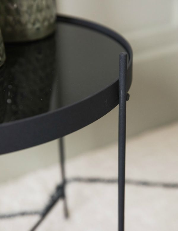 Mona Side Table - Black by Zuiver