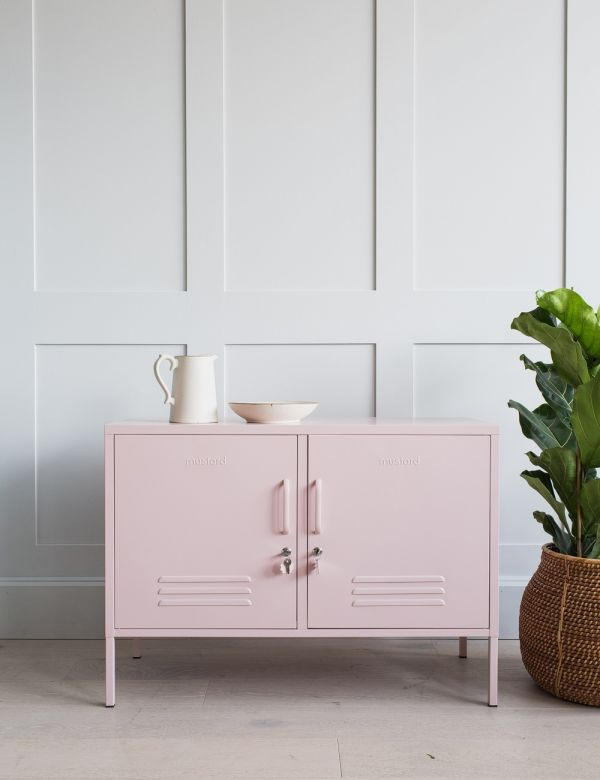 Mustard Made Lockers - The Lowdown Locker - Blush Pink