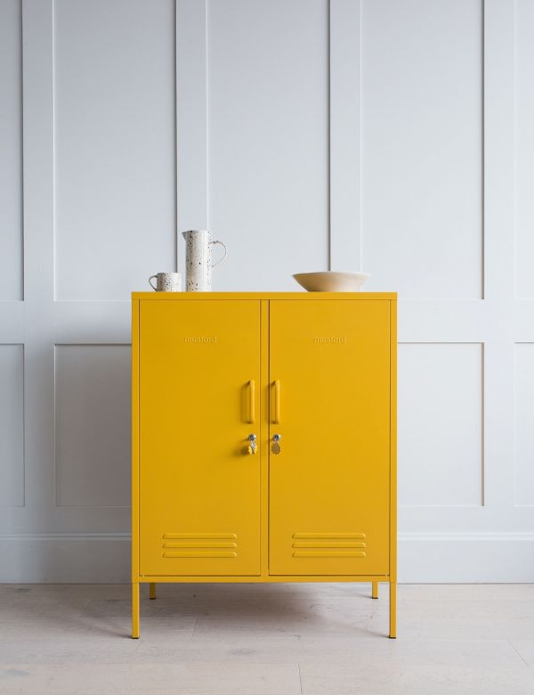 Mustard Made Lockers - The Midi Locker - Mustard Yellow