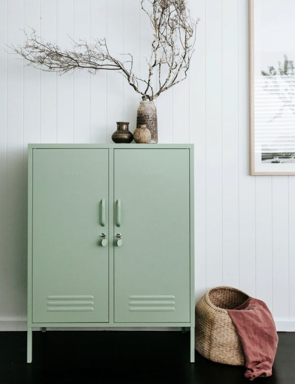 Mustard Made Lockers - The Midi Locker - Sage