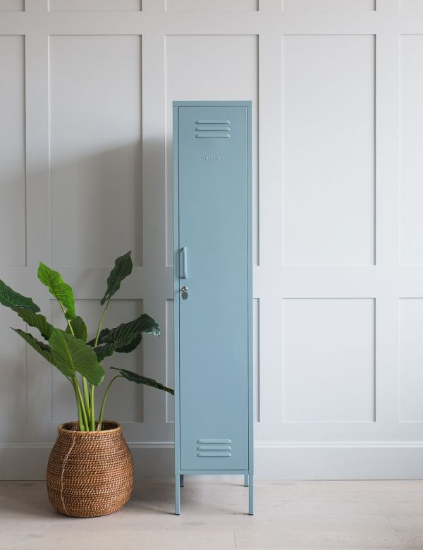 Mustard Made Lockers - The Skinny Tall Locker - Ocean Blue