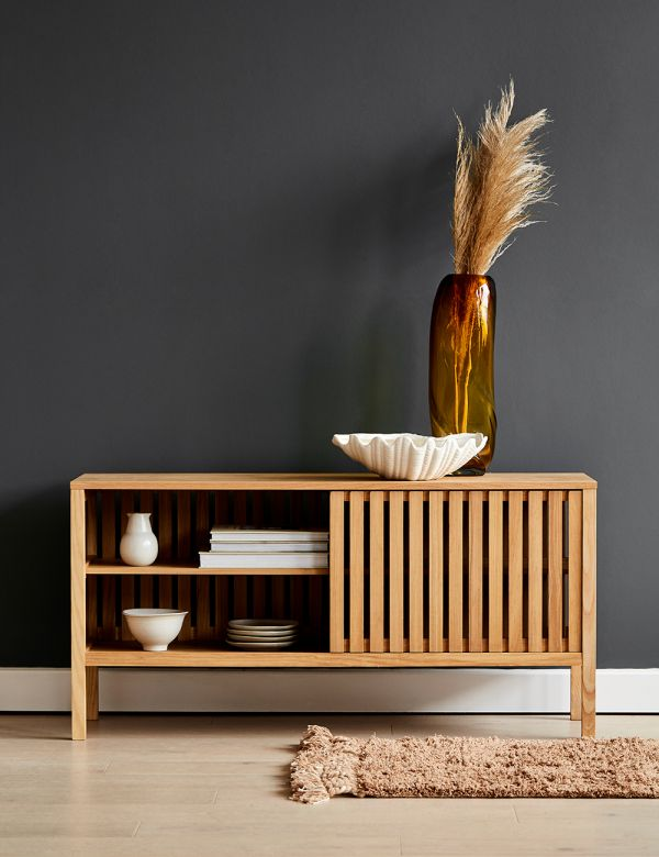Natural Ash Linear Sideboard