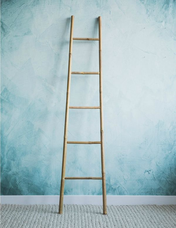 Natural Bamboo Ladder