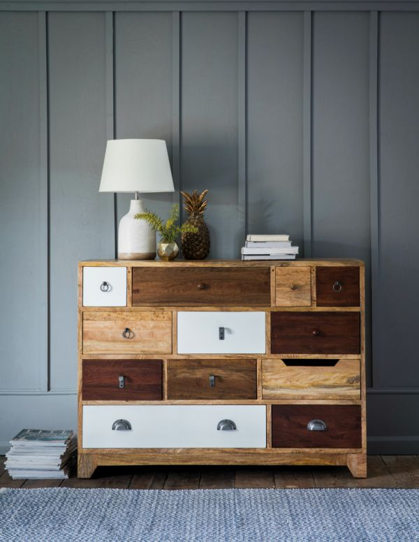Natural Shoreditch Chest of Drawers