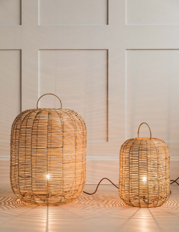 Noko Wicker Table Lamp