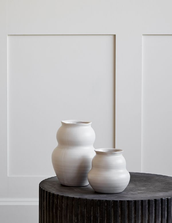 Organic China Clay Vase - Two Sizes Available