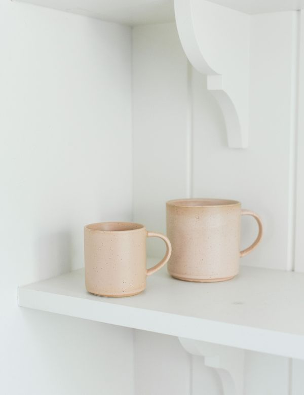 Organic Nude Coffee Mug - Two Sizes Available