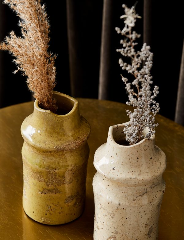 Organic Textured Vase - Two Colours Available