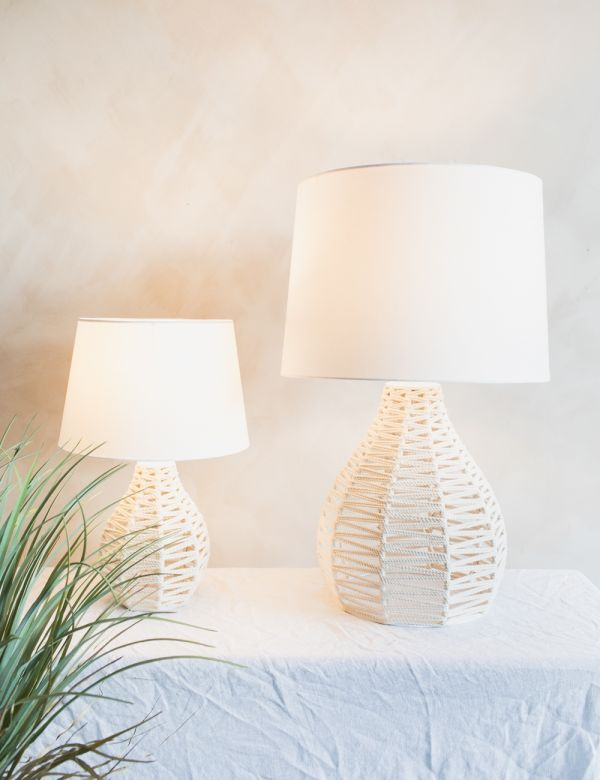 Ori Natural Rope Lamp - Two Sizes Available