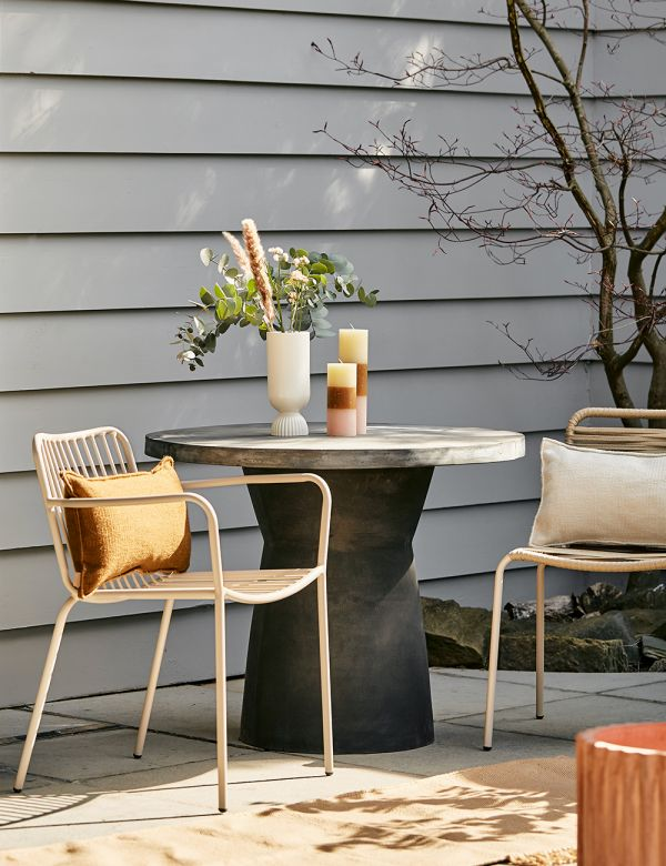Oslo Charcoal Outdoor Dining Table