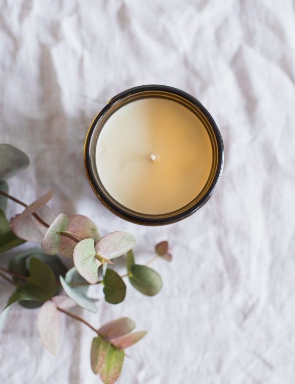 P.F Candle Co. No.11 Amber & Moss Large Soy Candle